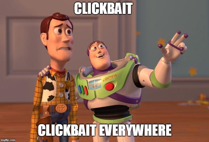 Meme su chi fa clickbait