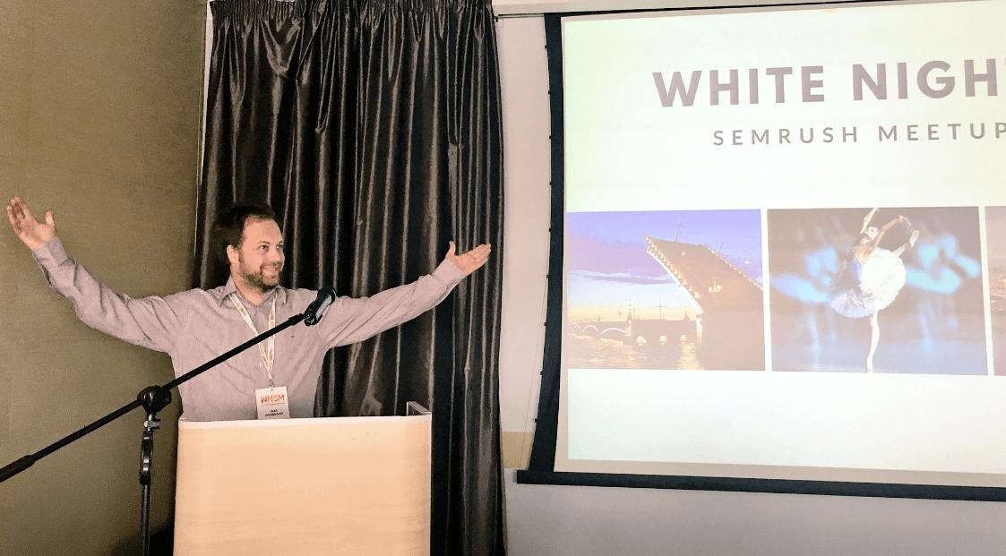 Presentación del CEO de SEMrush en el #WNSM16