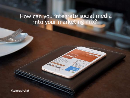 How can you integrate social media into your marketing mix?