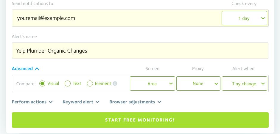 Visual Ping screenshot