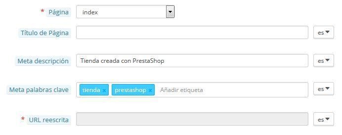 Cómo hacer una meta descripción perfecta - Metatags en Prestashop