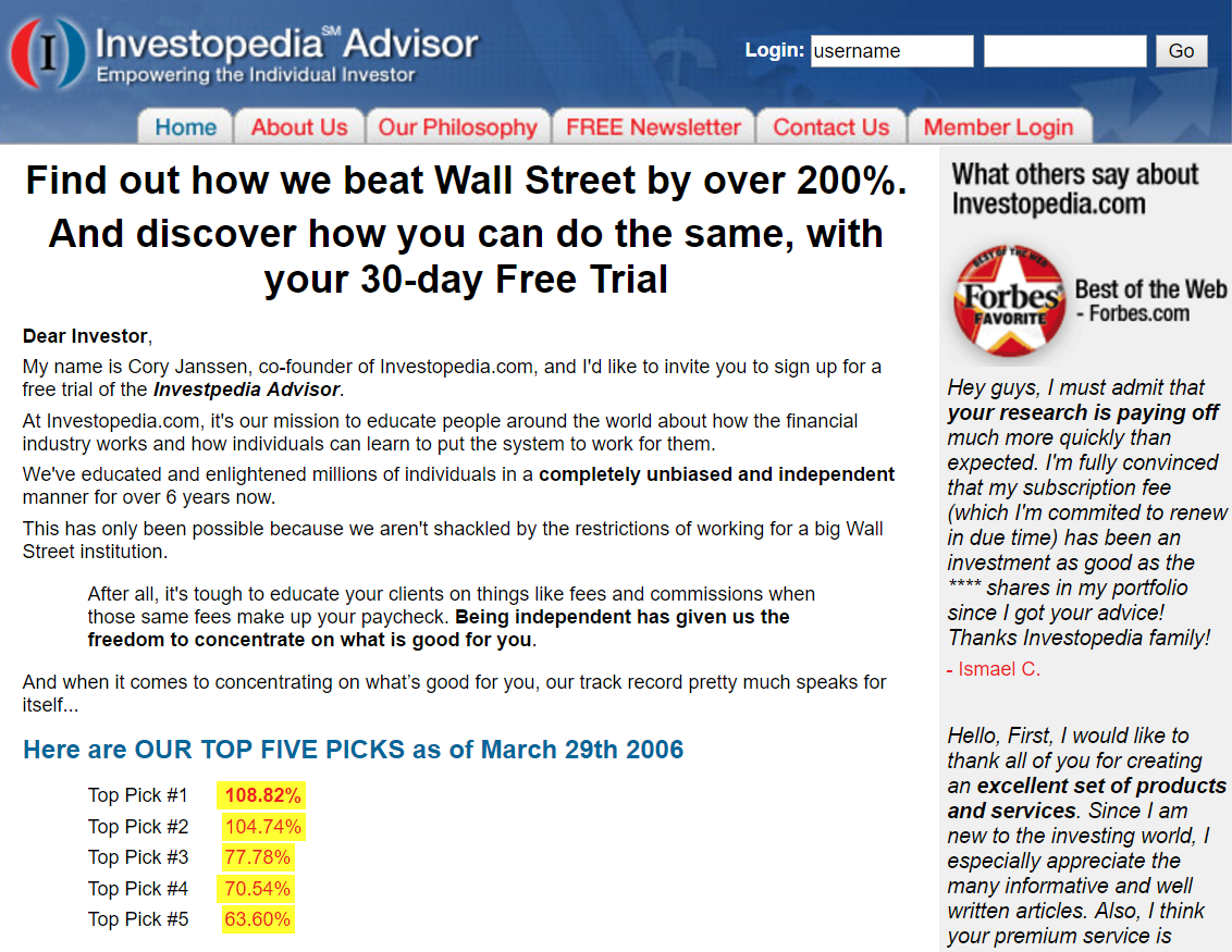 How Investopedia conducted a multivariate test with a long page and increased conversions by 89%.