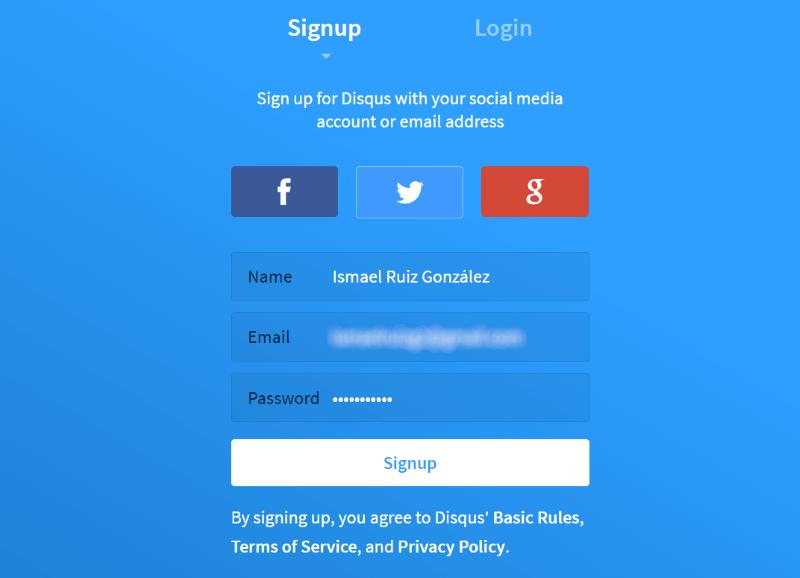 ¿Cómo instalar la app Disqus con éxito en tu blog Wordpress?. Imagen 2