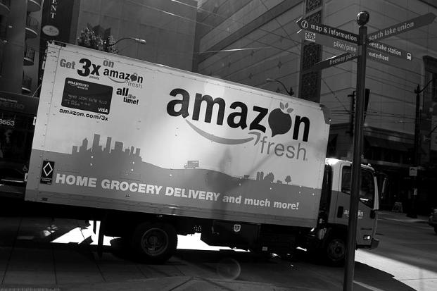 Amazon truck