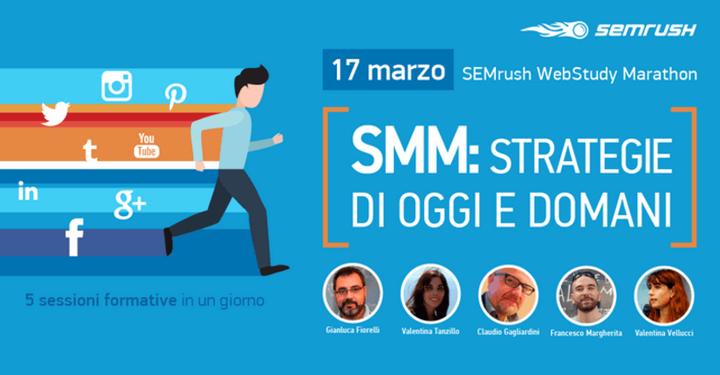 SEMrush Marathon sul social media marketing