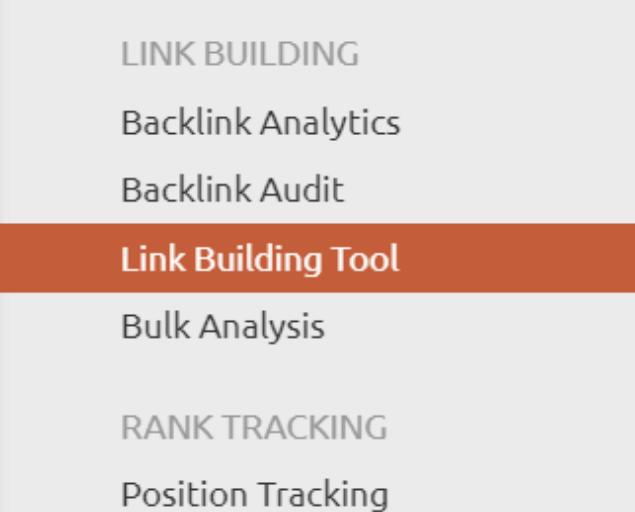 semrush workflow link building tool