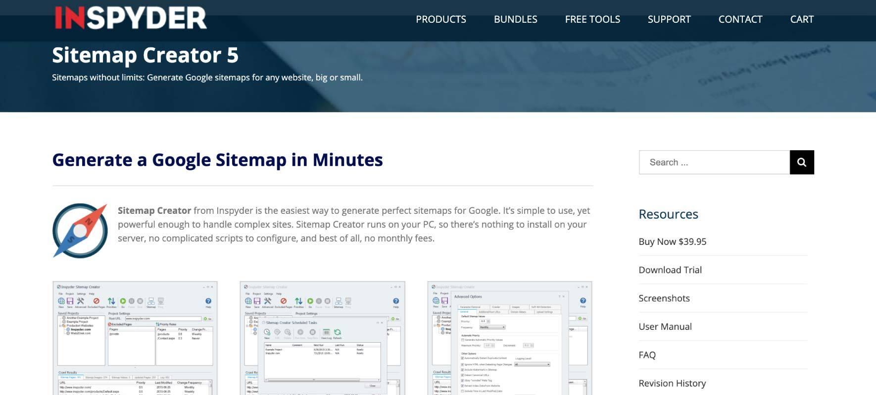 Best Sitemap Generator Tools Inspyder