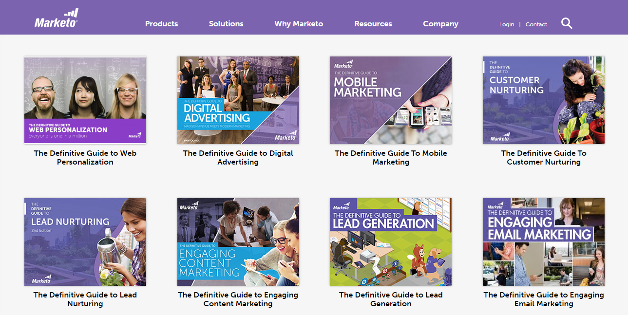 Marketo Definitive Guides
