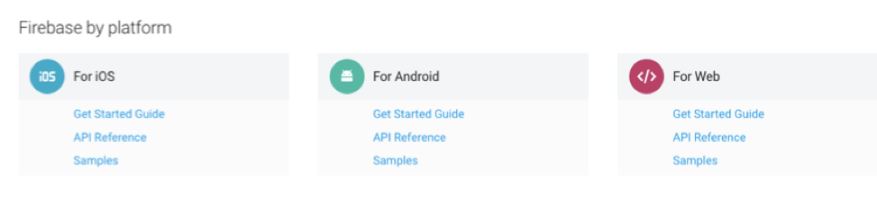Develop App with Firebase