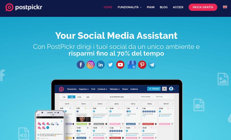 Postpickr è una delle migliori app per programmare post su Instagram