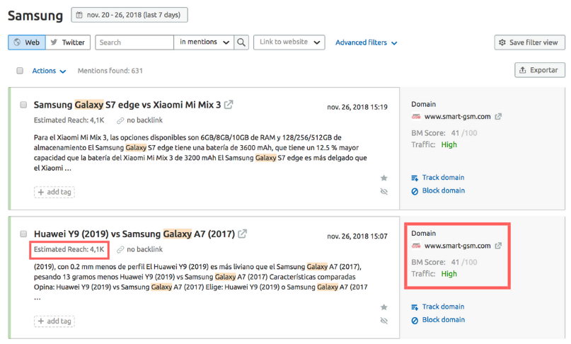 Leads de calidad - Samsung