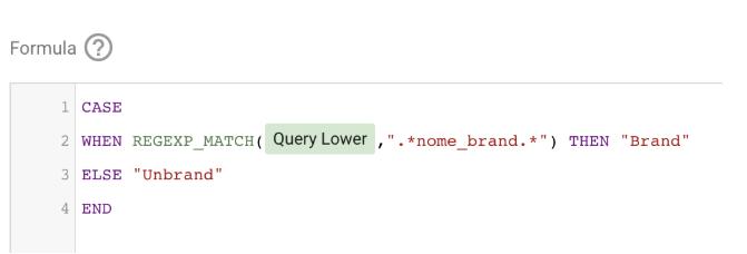 Creazione dimensione su Google Data Studio