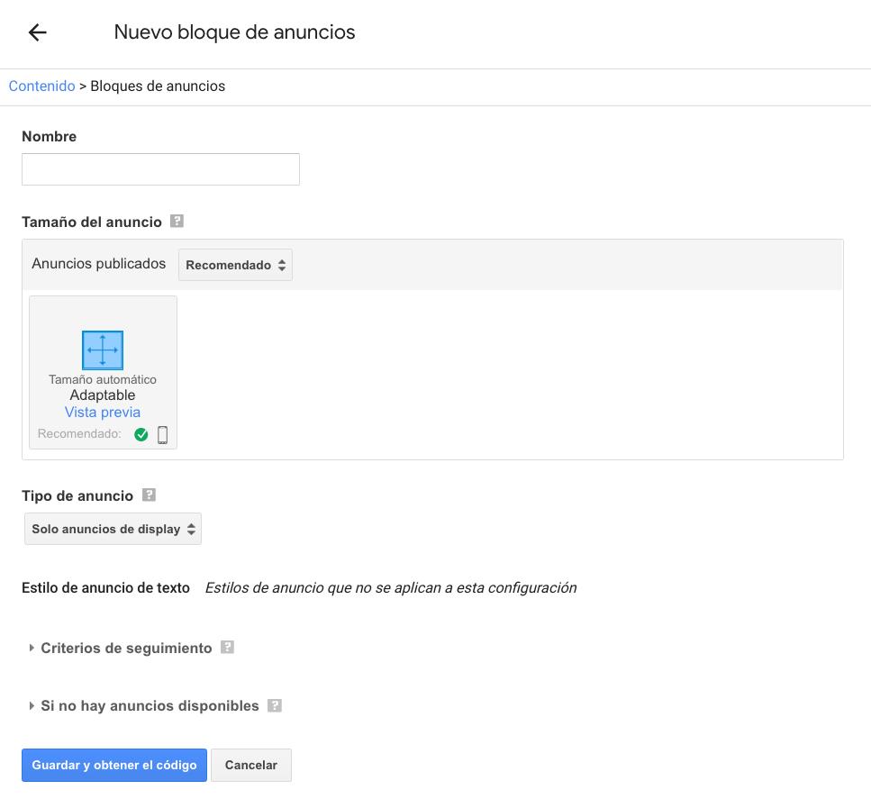 Qué es Google Adsense - Anuncios de texto y display