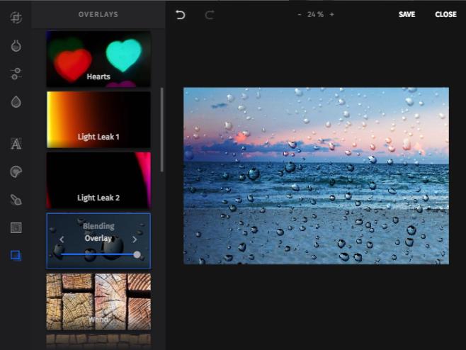Editor de imágenes SEMrush - Función de redimensión