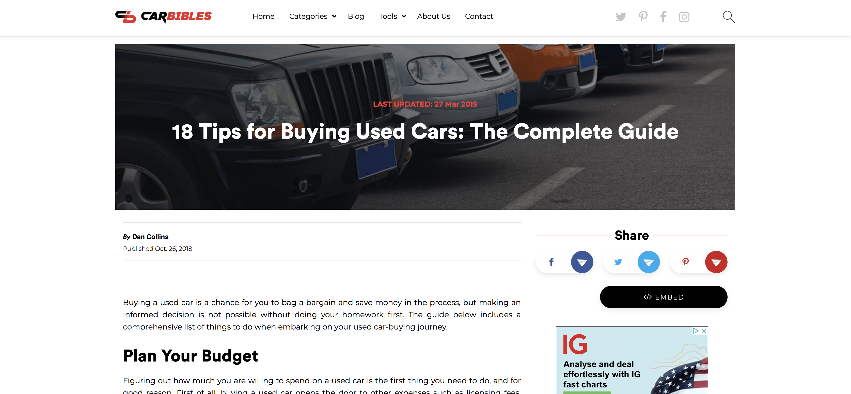 Car Bibles Buying Used Cars Tips