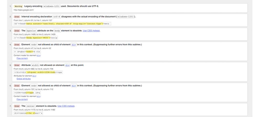 Come fare SEO audit: il tool per la validazione dell'html