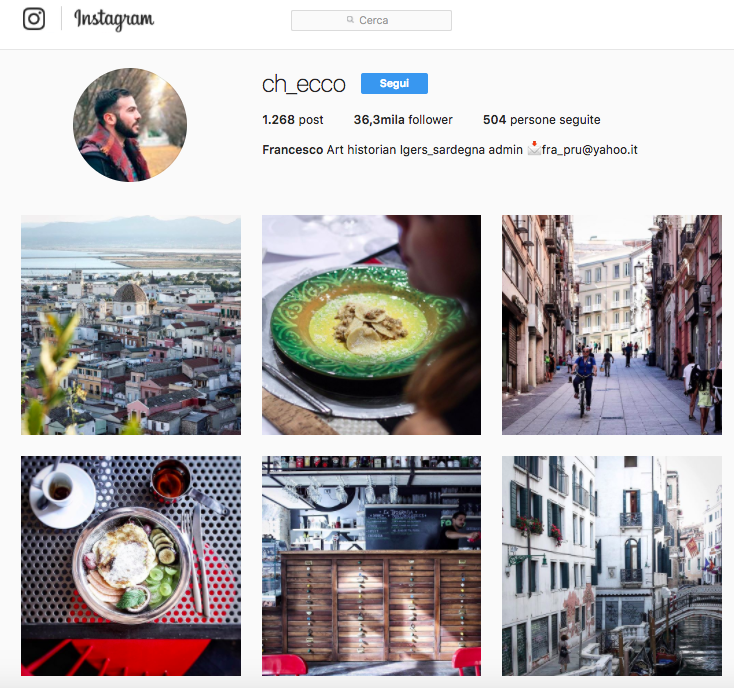 Consigli di Instagram marketing: account da seguire