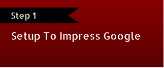 step-one-impress-google