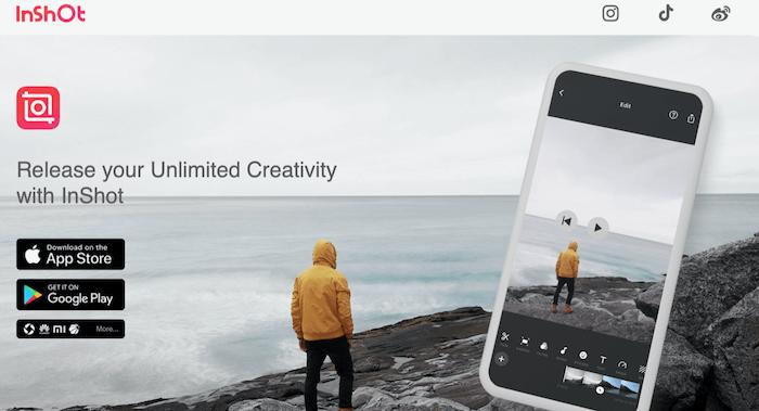 Inshot: App per editare video per instagram