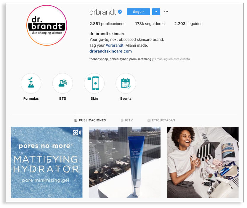 Instagram stories - Marca