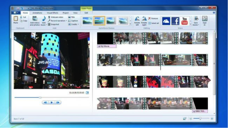 Windows Movie Maker Free Video Editing Software