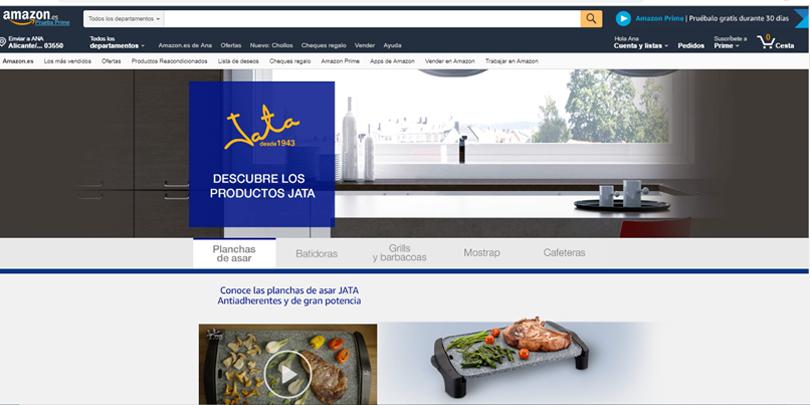 Publicidad en Amazon - Sponsored brands detalle de producto