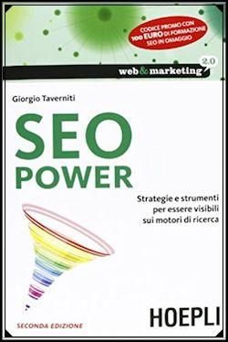 I migliori libri di web marketing: SEO Power di Taverniti