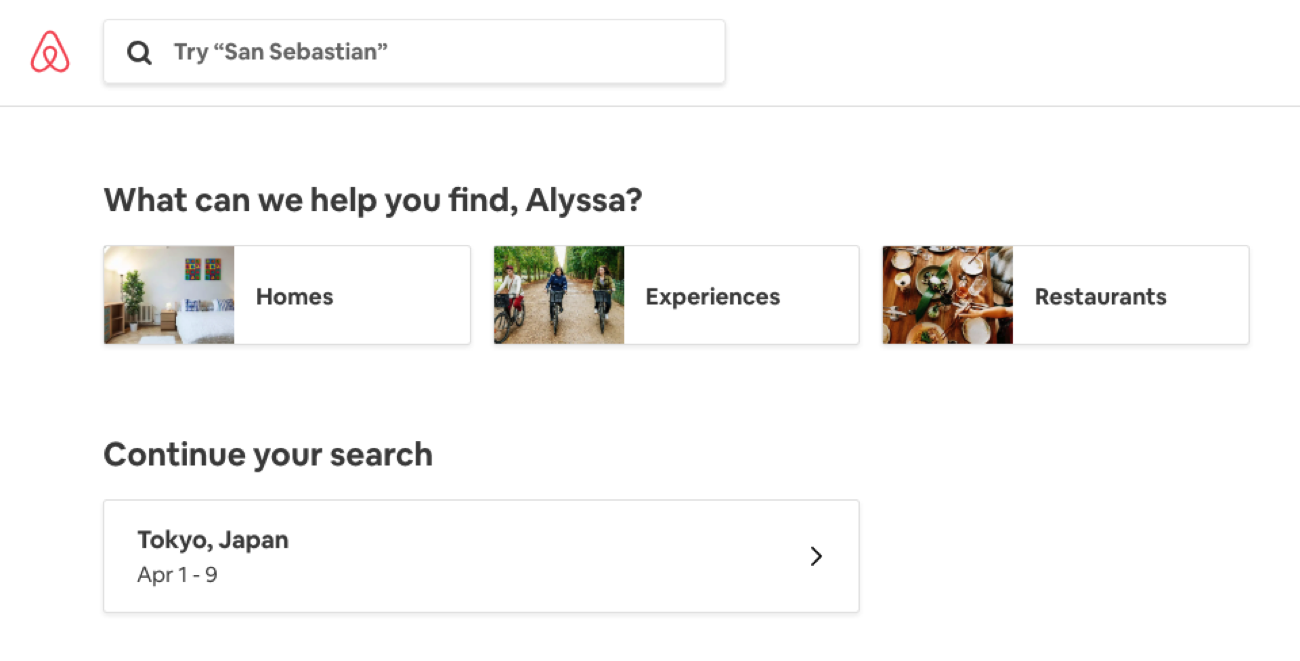 recently-search-airbnb-adaptive-content