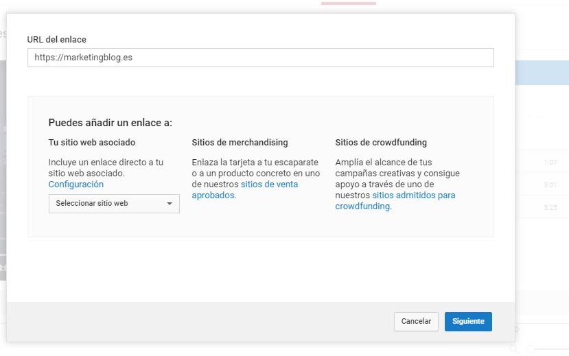Cómo hacer un call to action para video contenidos - Dirección