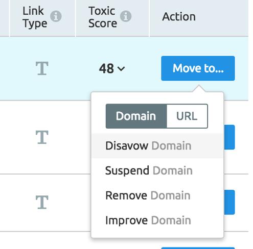 Penguin 4.0 - Clasificación de enlaces con SEMrush