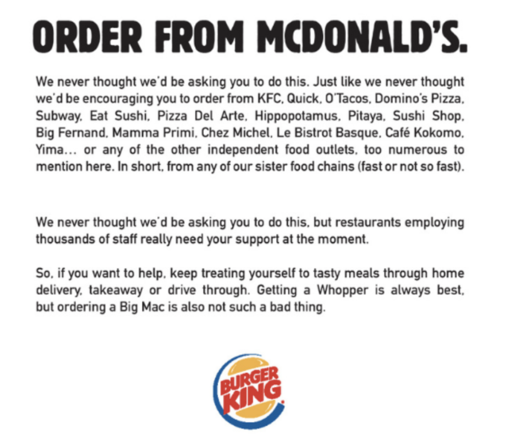 Content marketing examples - Burger King