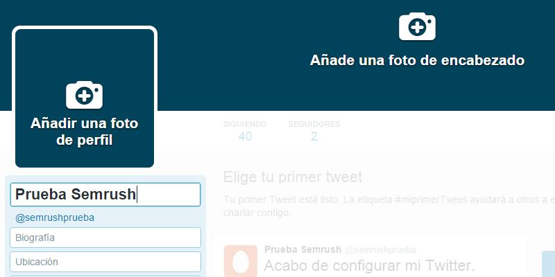 Crear cuenta Twitter - Paso 10