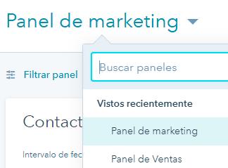 Smarketing - Panel de marketing y ventas