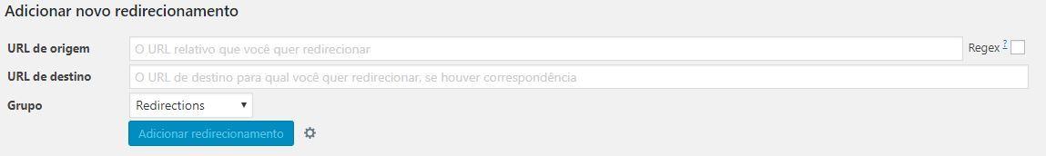 Redirect 301 feito pelo Wordpress