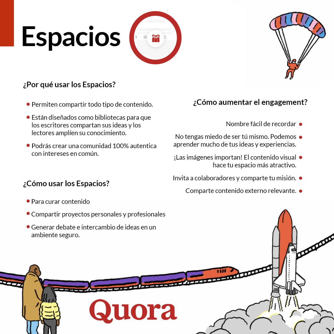 Cómo crear una comunidad online - Espacios de Quora