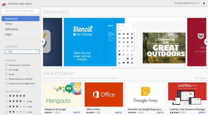 ¿Qué extensiones de Google Chrome son imprescindibles en marketing digital? - Chrome web store