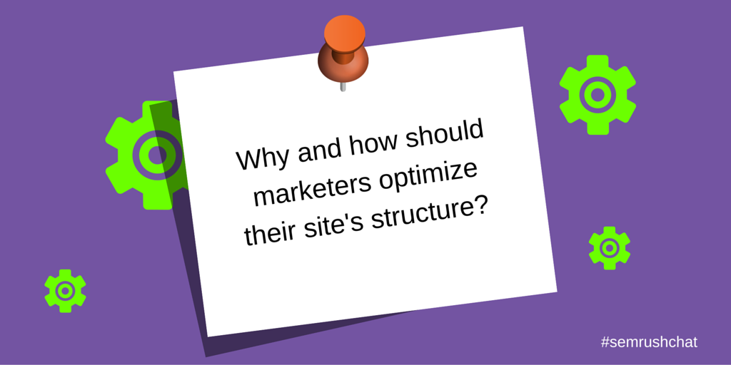 Optimize site's structure