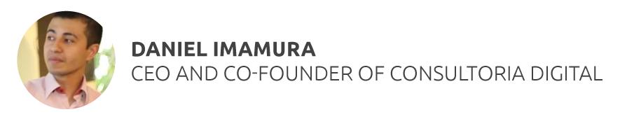 Daniel Imamura CEO and Co-Founder of Consultoria Digital