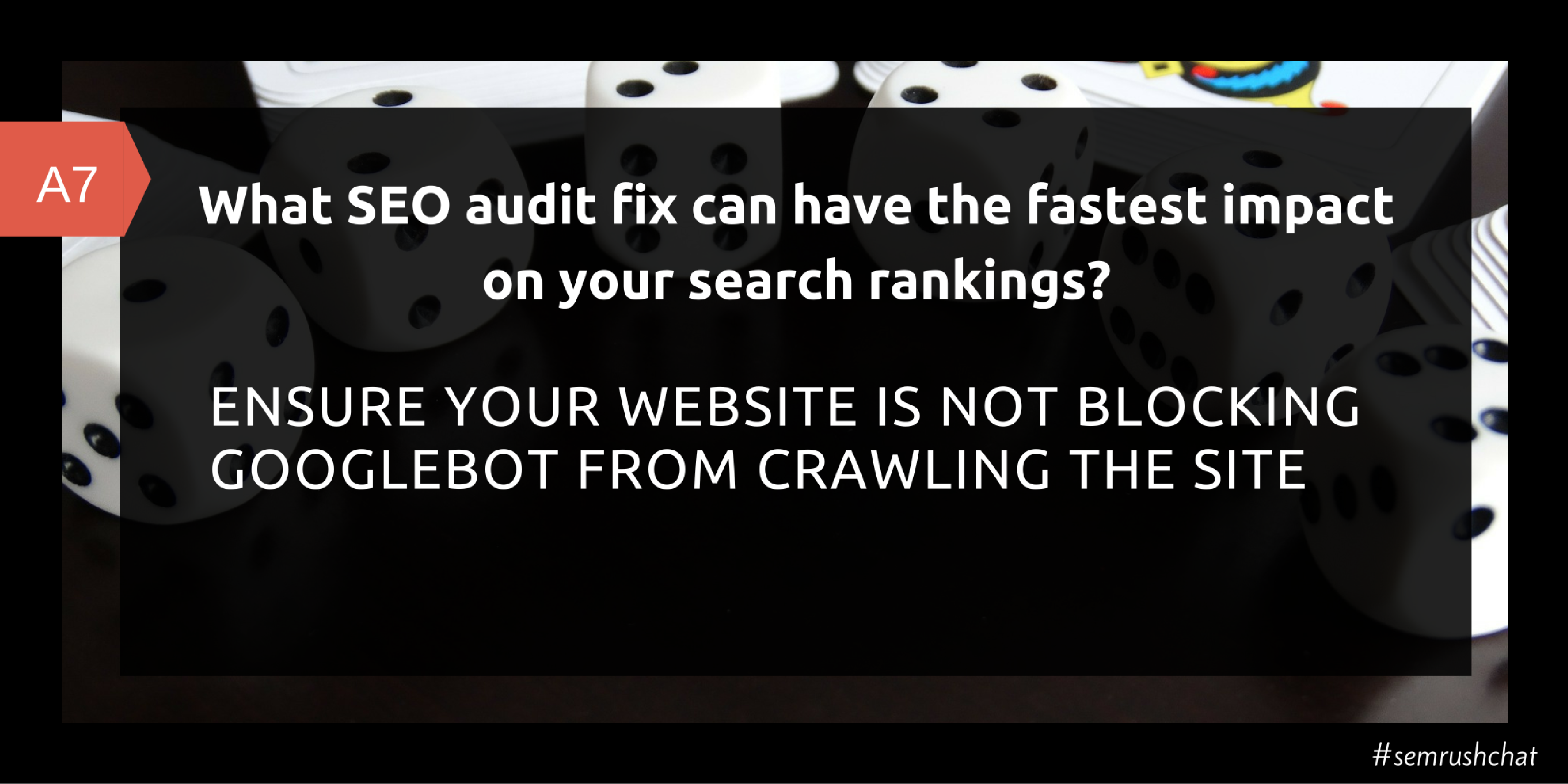 SEO audit fix