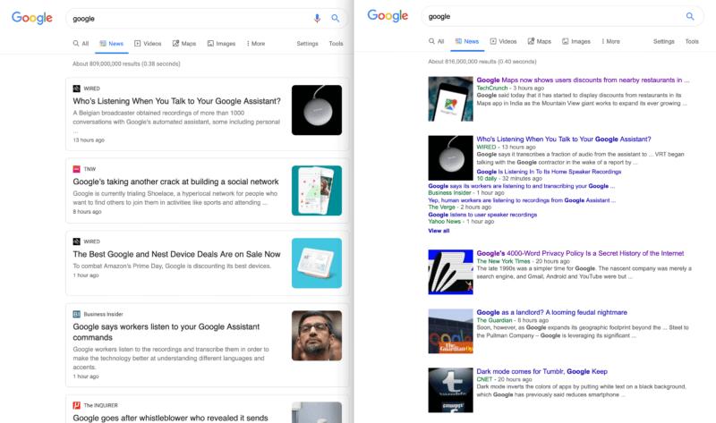 Google News Digest 19.07: Google Data Studio Update, Neue Ausrichtungsoptionen in Ads und mehr. Bild 2