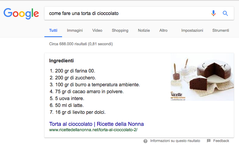 Content writing: perché comparire in un featured snippet
