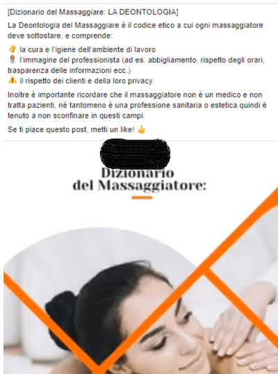 post perfetto su Facebook