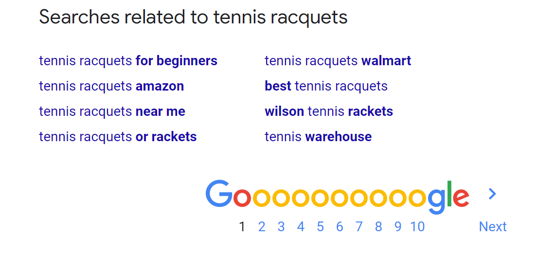 searches related to tennis racquets