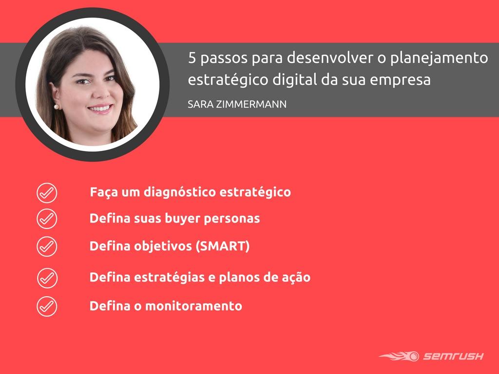 5 passos para desenvolver o planejamento estratégico digital da sua empresa. Imagem 0