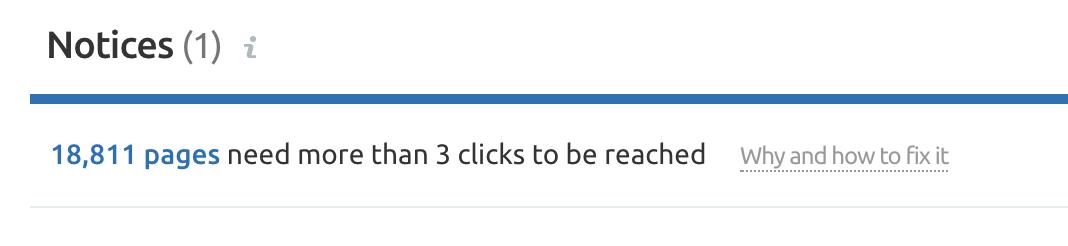 3 clicks