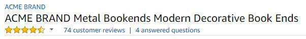 Amazon Title Optimization