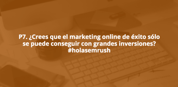 Tendencias de Marketing online Pregunta7