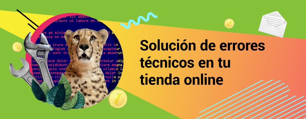 Flujo de trabajo en comercio electrónico - Solución de errores técnicos