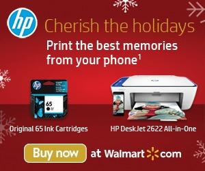 Estrategias SEM para ecommerces - Anuncio de imagen de impresoras HP