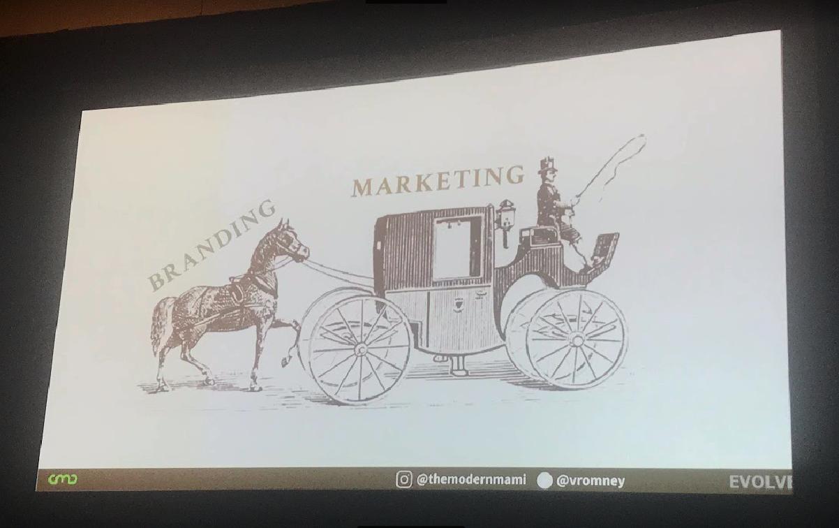 Branding first, marketing after